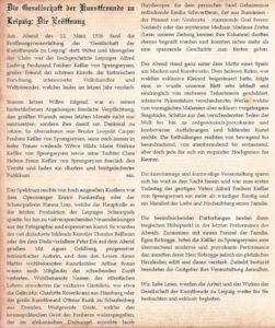 Artikel Die Eröffnung